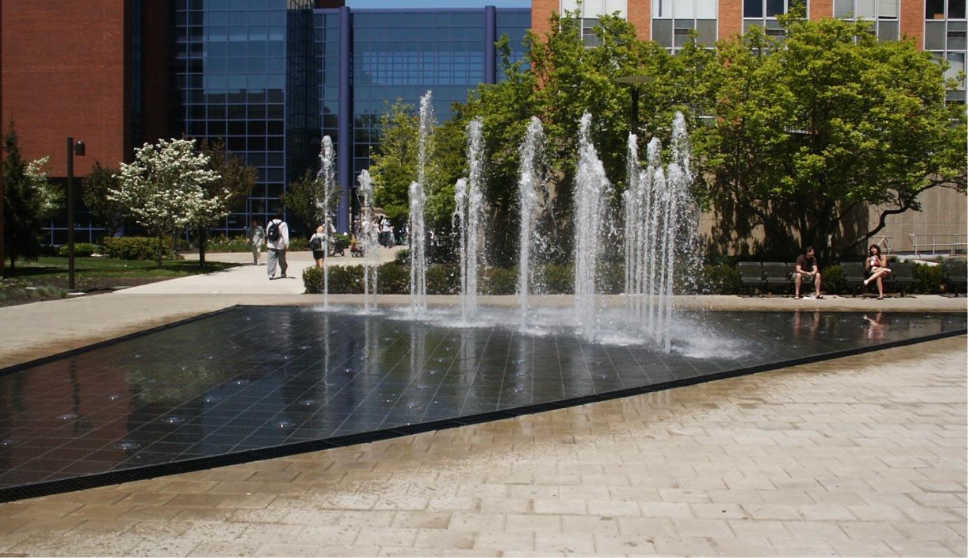 Philadelphia Public Art Main Quad Fountain